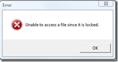 VMware ESX Unable to access a file since it is locked