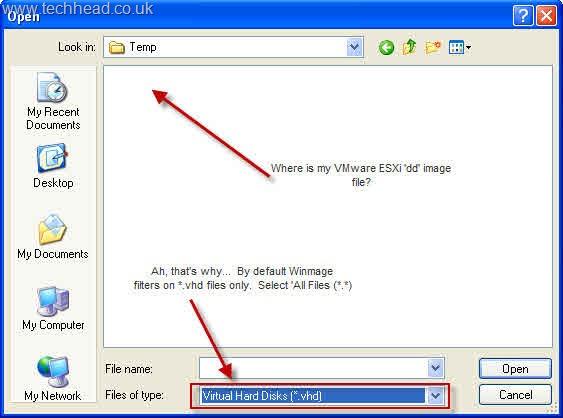 How to create a bootable VMware ESXi 3 5 & 4 0 (vSphere) USB