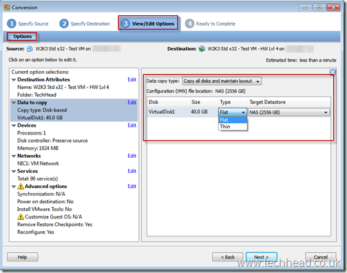 VMware ESX and ESXi - How to change hwardware level