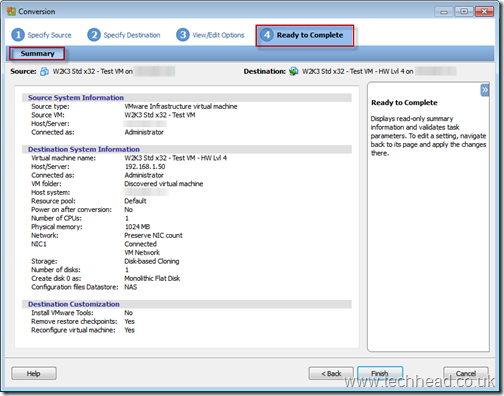 VMware ESX and ESXi - How to change VM Version