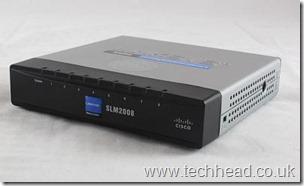 Cisco SLM2008 Smart Switch