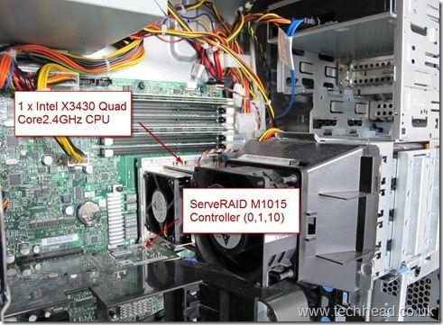 Lenovo TS200 CPU and RAID