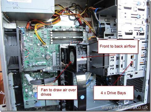 Lenovo TS200 Drives