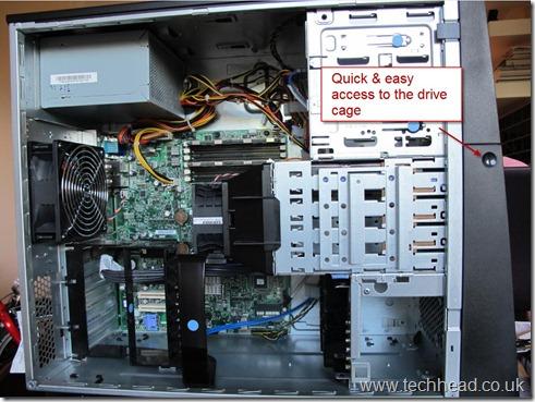 Lenovo TS200 Inside