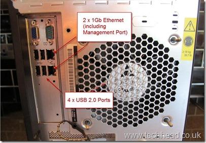 Lenovo TS200 Rear USB
