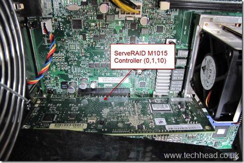 Lenovo TS200 ServeRAID M1015