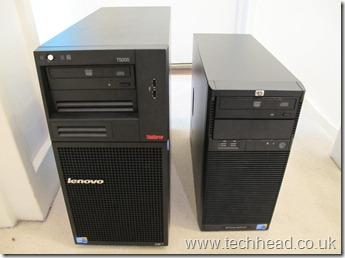 Lenovo TS200 and ML110 G6
