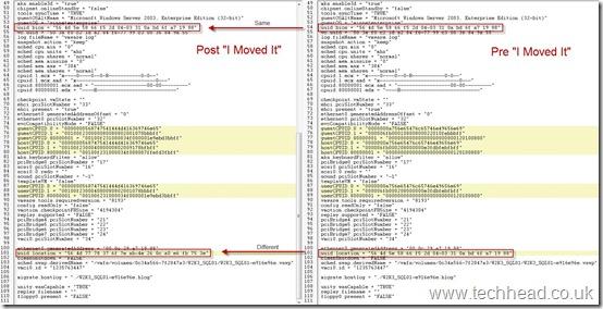 VMware ESX I Moved It