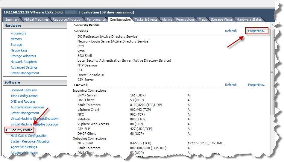 How to enable & disable ESXi Host SSH via the vSphere Client