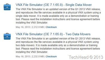 EMC VNX Simulator (VSA)–How to download the latest version