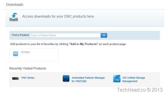 EMC VNX VSA Download Steps