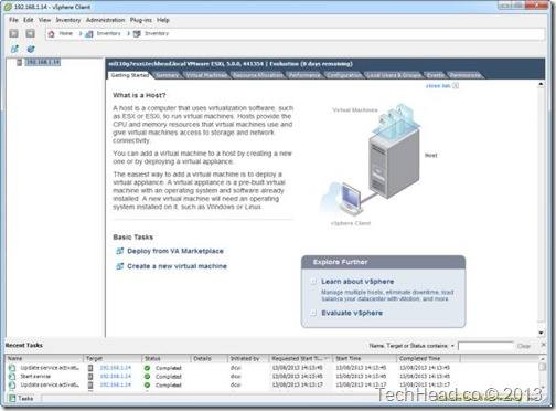 VMware Client SSH Enable