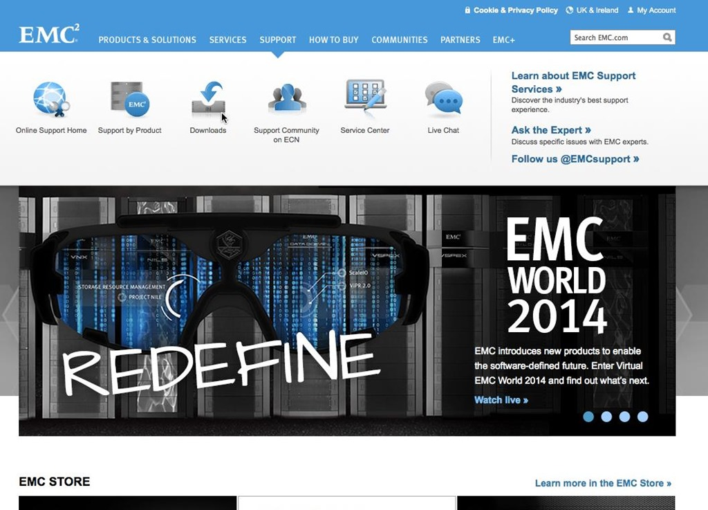 Get Your Own EMC Support Portal Logon in 3 Easy Steps