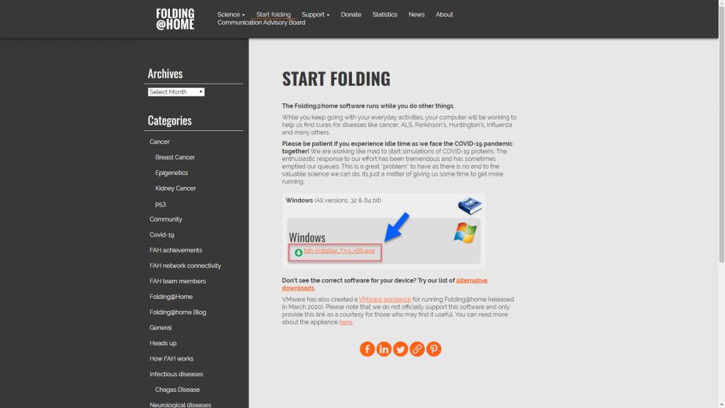 Folding@home COVID-19